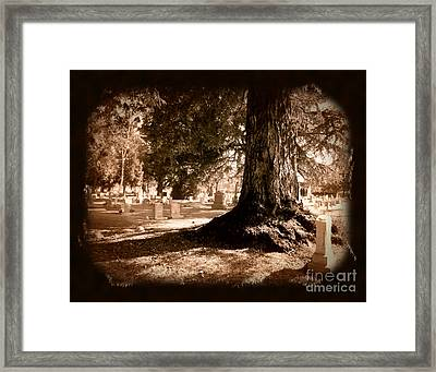 The Final Shadow Framed Print