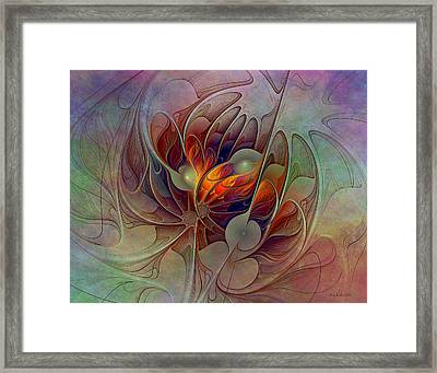 The Fire Inside Framed Print