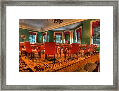 The First American Congress Senate Chamber - Independence Hall - Congress Hall -  Framed Print by Lee Dos Santos