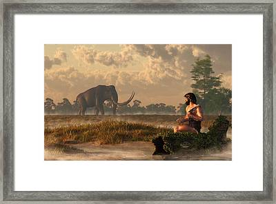 The First American Wildlife Artist Framed Print