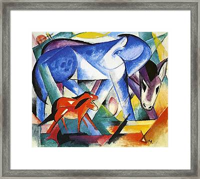 The First Animals Framed Print