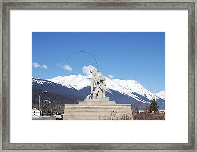 Framed Print featuring the photograph The Fisherman by Sylvia Hart