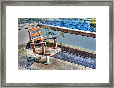 The Fishing Chair Framed Print