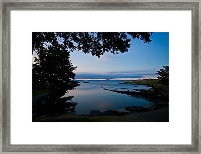The Fjords Seen From Rennesoy Framed Print by Sindre Ellingsen