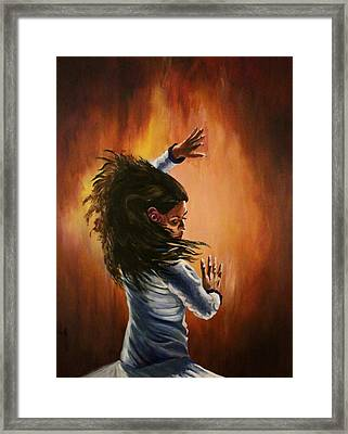 The Flamenco Framed Print by Jerry Frech