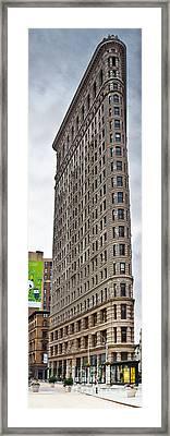 The Flat Iron Building Framed Print by John Farnan