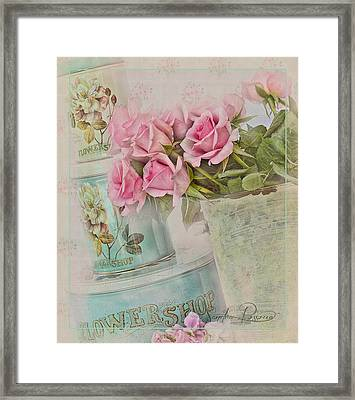 The Flower Shop  Framed Print by Sandra Rossouw