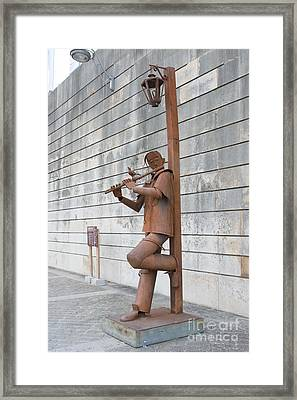 The Flute Player Framed Print by Fabrizio Ruggeri