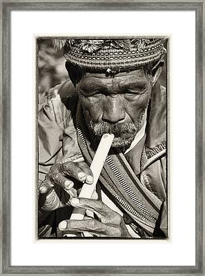 The Flute Framed Print by Skip Nall