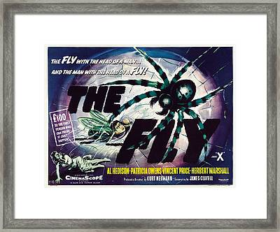 The Fly, David Hedison Aka Al Hedison Framed Print