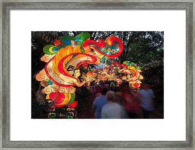 The Flying Apsaras Framed Print by Semmick Photo