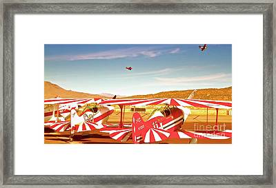 The Flying Circus Reno Air Races Framed Print