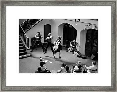 The Flying Quartet Covent Garden Framed Print by Aldo Cervato