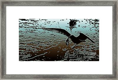 The Food Chain Framed Print by Jeff Breiman