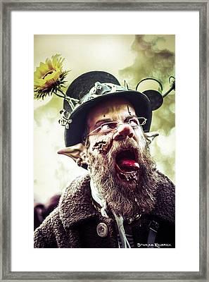 Framed Print featuring the photograph The Fool Goblin by Stwayne Keubrick