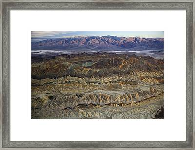 The Foothills Of Amargosa Canyon Framed Print by Michael Melford