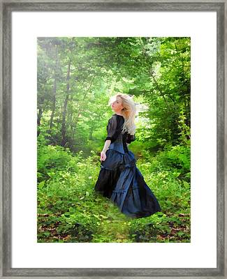 The Forest Beckons Framed Print
