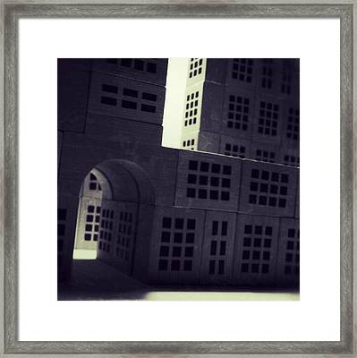 The Forgotten Town - 14 Framed Print by Mirko Lamonaca