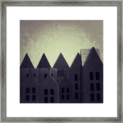 The Forgotten Town - 35 Framed Print by Mirko Lamonaca