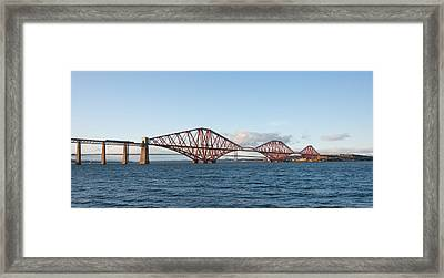The Forth Bridges Framed Print