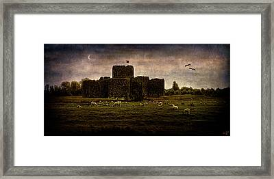 The Fortress Of Minas Morgul Framed Print by Chris Lord