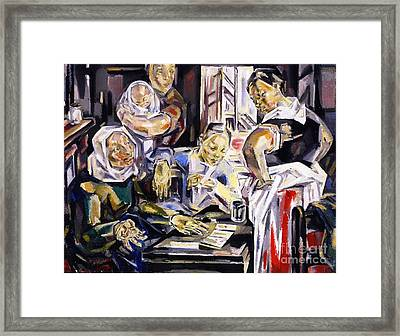 The Fortune Teller Framed Print by Pg Reproductions