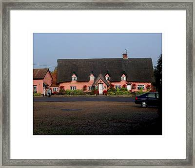 The Four Horseshoes Framed Print