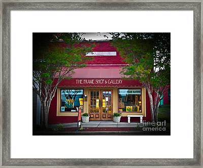 The Frame Shop And Gallery Framed Print