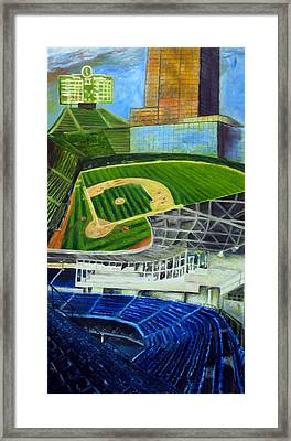 The Friendly Confines Framed Print by Chris Ripley