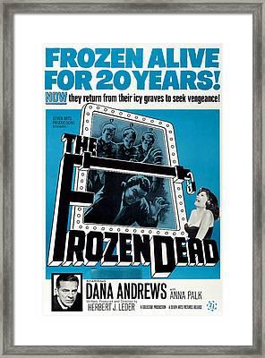 The Frozen Dead, Bottom Left Dana Framed Print