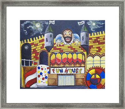 The Funhouse Castle Framed Print by Patricia Arroyo
