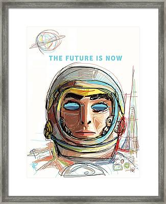 The Future Is Now Framed Print by Russell Pierce