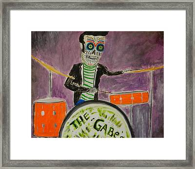 Framed Print featuring the painting The Gabes by Everette McMahan jr
