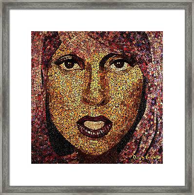 The Gaga Framed Print