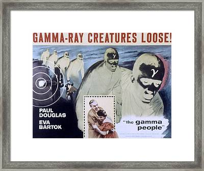 The Gamma People, Paul Douglas, Eva Framed Print by Everett