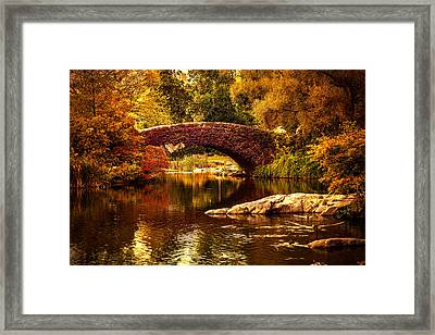 The Gapstow Bridge Framed Print