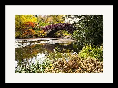 Gapstow Bridge Framed Prints