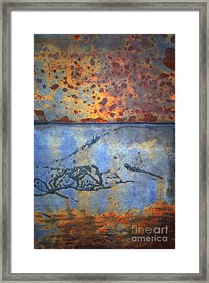 The Garbage Can Framed Print by Tara Turner