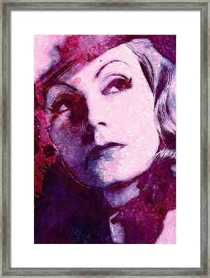 The Garbo Pastel Framed Print by Steve K