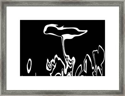 The Garden Planted Framed Print by James Mancini Heath