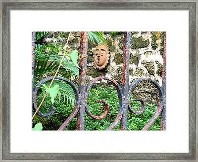 The Garden Singer Framed Print by Warren Clark
