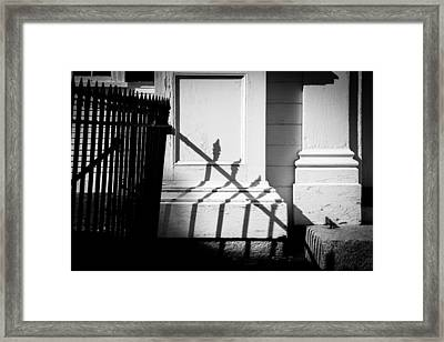 Iron Fence Framed Print
