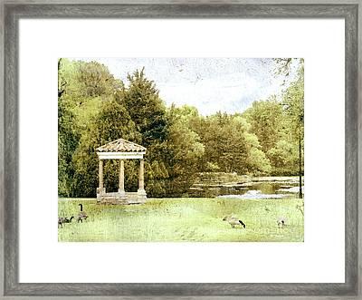 The Gazebo  Framed Print by Ann Powell