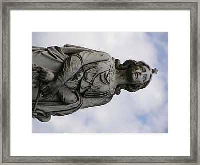 The Gazer Framed Print by Andrea Drake