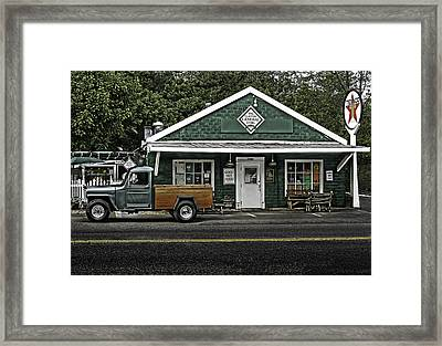 The General Store Framed Print by Don Lovett
