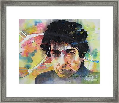 The Genius Framed Print