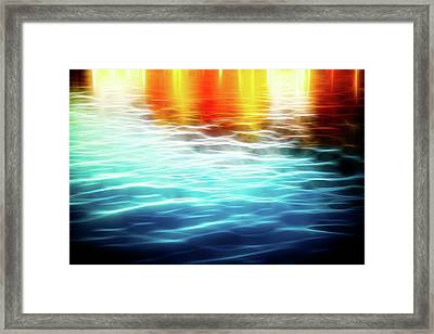 The German Wharf Framed Print