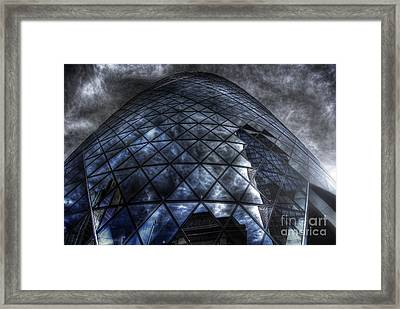 The Gherkin - Neckbreaker View Framed Print by Yhun Suarez