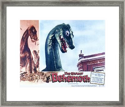 The Giant Behemoth, 1959 Framed Print
