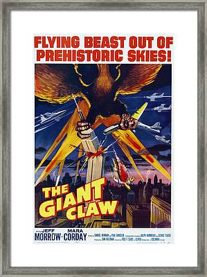 The Giant Claw, Poster, 1957 Framed Print by Everett
